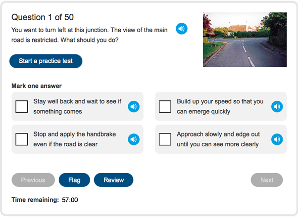 Theory Test - Practice